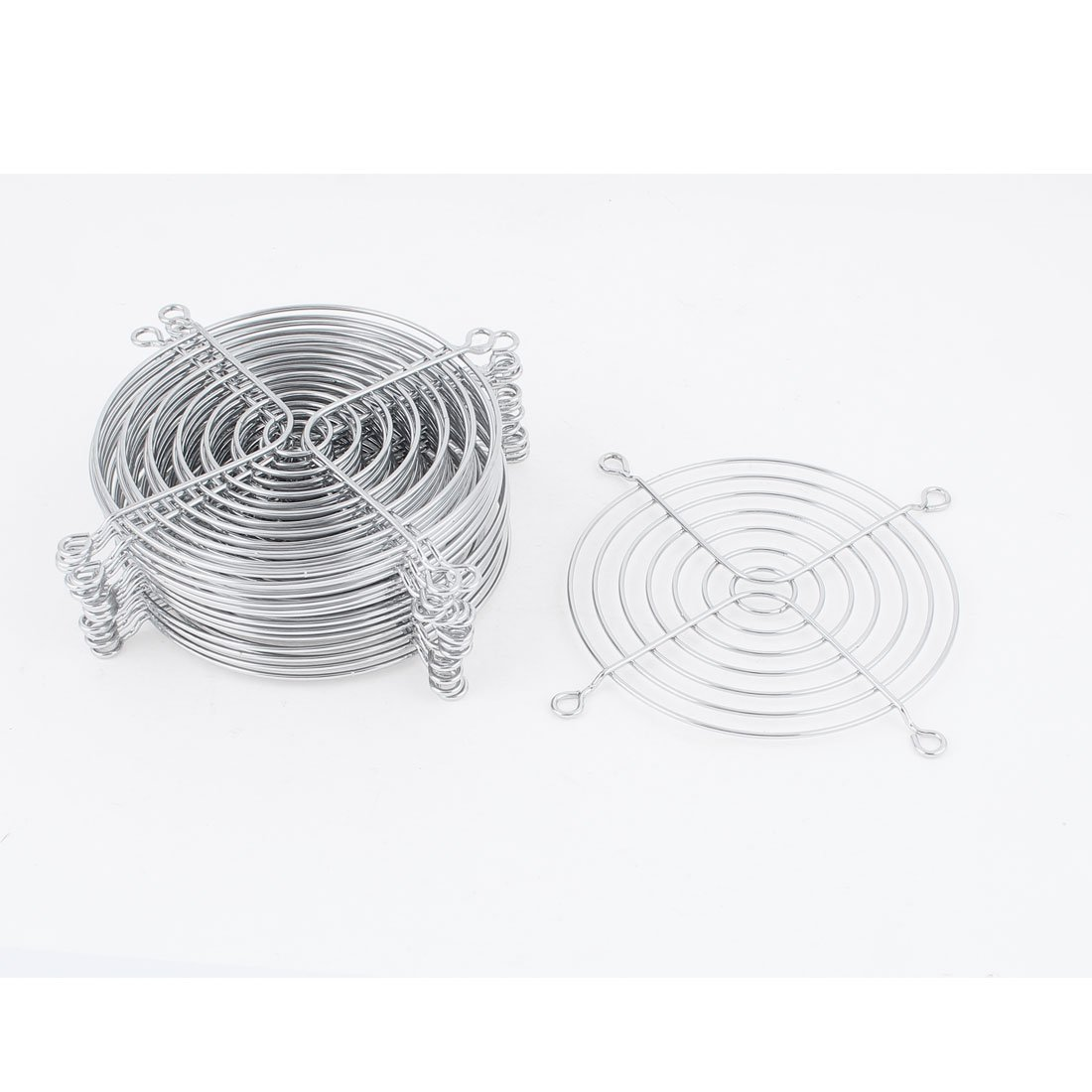 Metal Wire Finger Guard Grill 15Pcs for 110mm Computer PC Cooling Fan