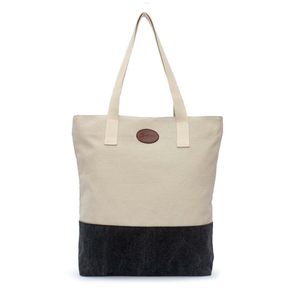 e3a8a890fdf8 Buy Women  39 s Heavy Duty Canvas Tote Bag DOIOWN Canvas Shoulder Bag Work  Bag School Tote(Washable