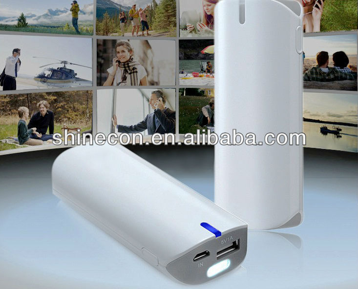 Universal portable emergency phone recharger 5600mah