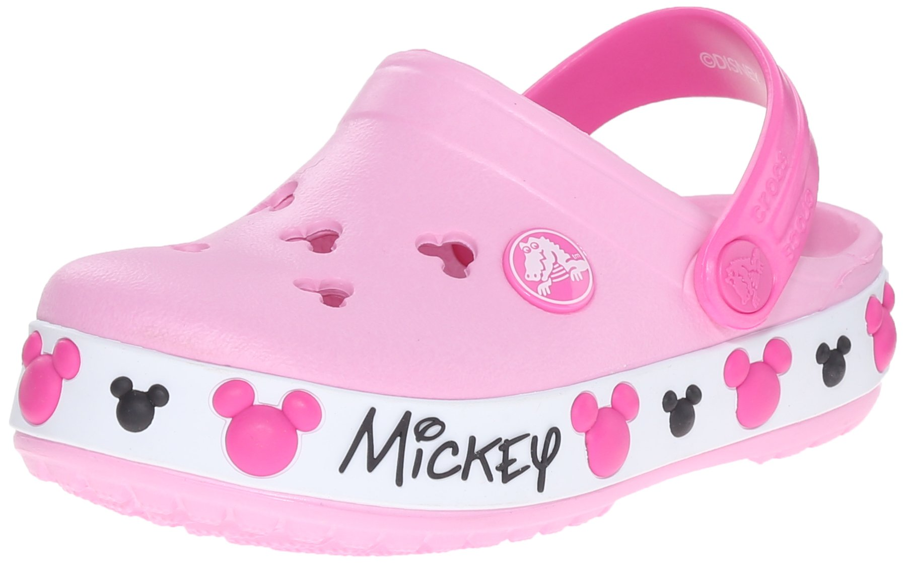 747540d7bf5d00 Get Quotations · Crocs Kids  Crocband Mickey Mouse IV Clog