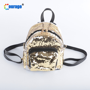 Hot Selling Girls' Sequin School Bags Custom Backpack with Logo