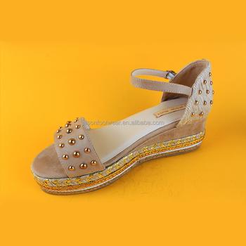 2f23b1436c1 Modern Mid Heel Open Toe Espadrille Platform Wedge Sandals Wide Width  Espadrille Sandals - Buy Wide Width Espadrille Sandals,Open Toe Espadrille  ...