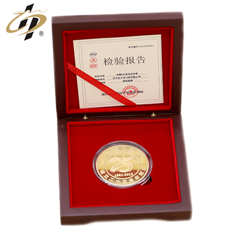 Fashion trend Factory direct supply  custom 3D 999 Gold  souvenir coins for Elegant gift box packaging