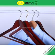 LM3008E Eco Closet Accessories Colored Wooden Hangers