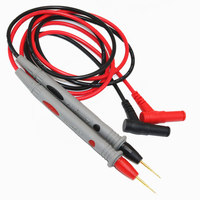 High quality 2PCS Multimeter Probe Test Cable Lead, very sharp 1000V20A, universal probe