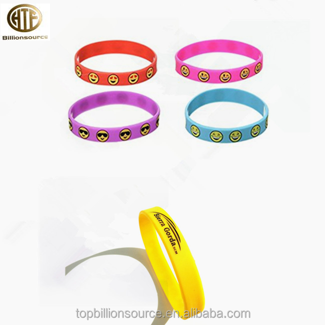 Emoji Silicone Bracelet Supplieranufacturers At Alibaba