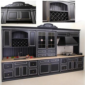 European Luxury Wooden Modular Kitchen Designs Wholesale ...