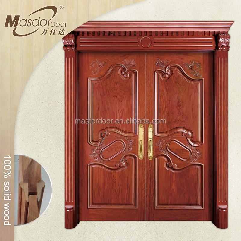 Custom Exterior Wood Doors, Custom Exterior Wood Doors Suppliers And  Manufacturers At Alibaba.com