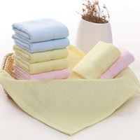 New china products Wholesale Natural White 100% Bamboo Fiber Baby Washcloth 6 Pack Of Super-Good Quality