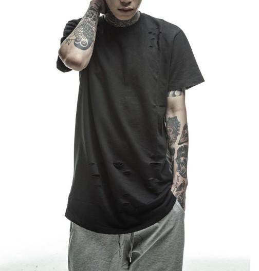 New HipHop streetwear T shirt Tops Tees urban clothing ...