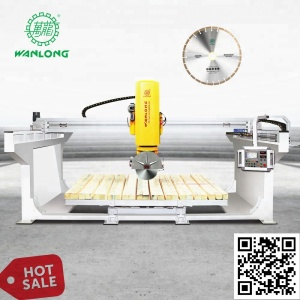 5 Axis Bridge Stone Cutting Machine Granite Marble Quartz bridge saw automatic slab cutting machine