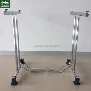 Latest Design folding chrome conference table base