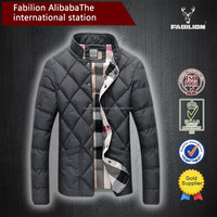 2017 new fashion online warm coat for mens running jacket