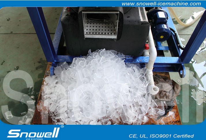 Easy to Install Tube Ice Machine for Africa 5000 KG/day