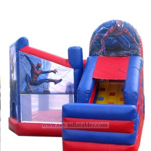 Hot-selling special inflatable mickey mouse bouncer and slide