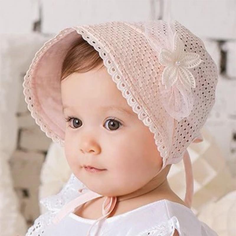 2016 Summer Baby Girl Cap Sweet Lovely Cute Princess Hat ...