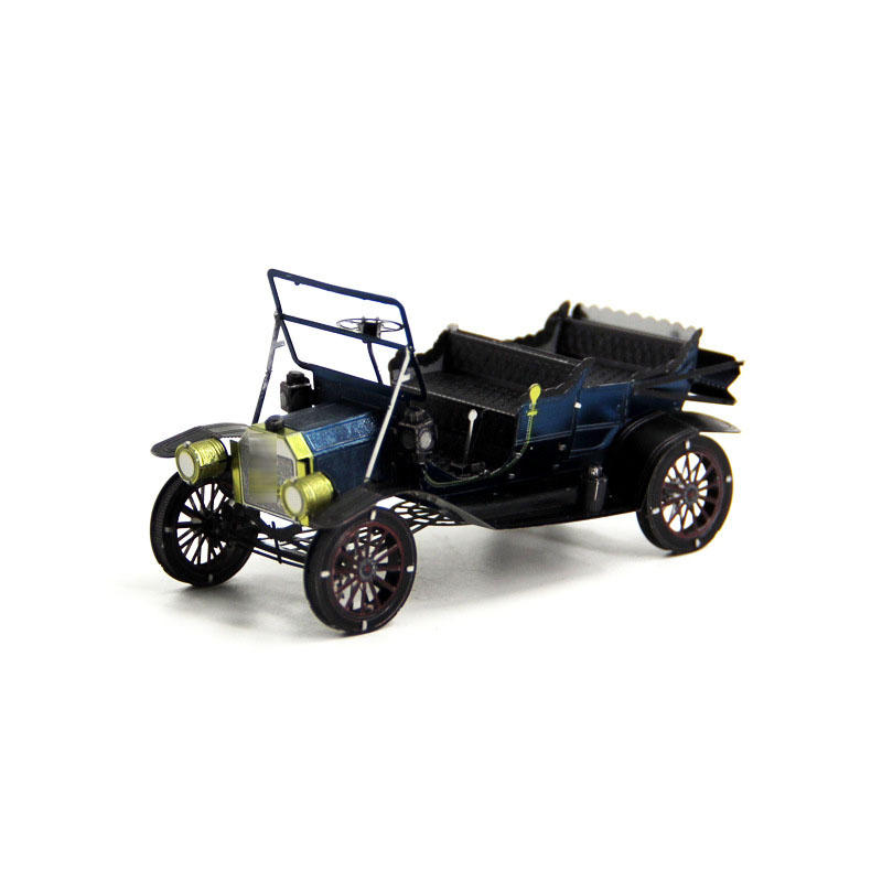High Quality Colorful Car 3D Metal Kits Model Puzzle DIY Collection Jigsaw Children Adult Toys