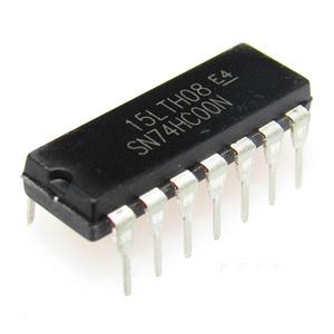 74HC00N 74HC00 SN74HC00N DIP14 Four two input NAND gate logic chip