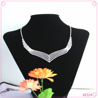 Latest design jewelry sets with factory wholesale price bridal jewelry set costume jewelry