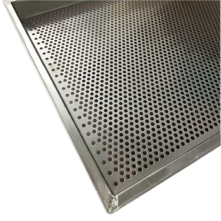 Поднос для осушения из нержавеющей стали/перфорированный поднос для листового металла