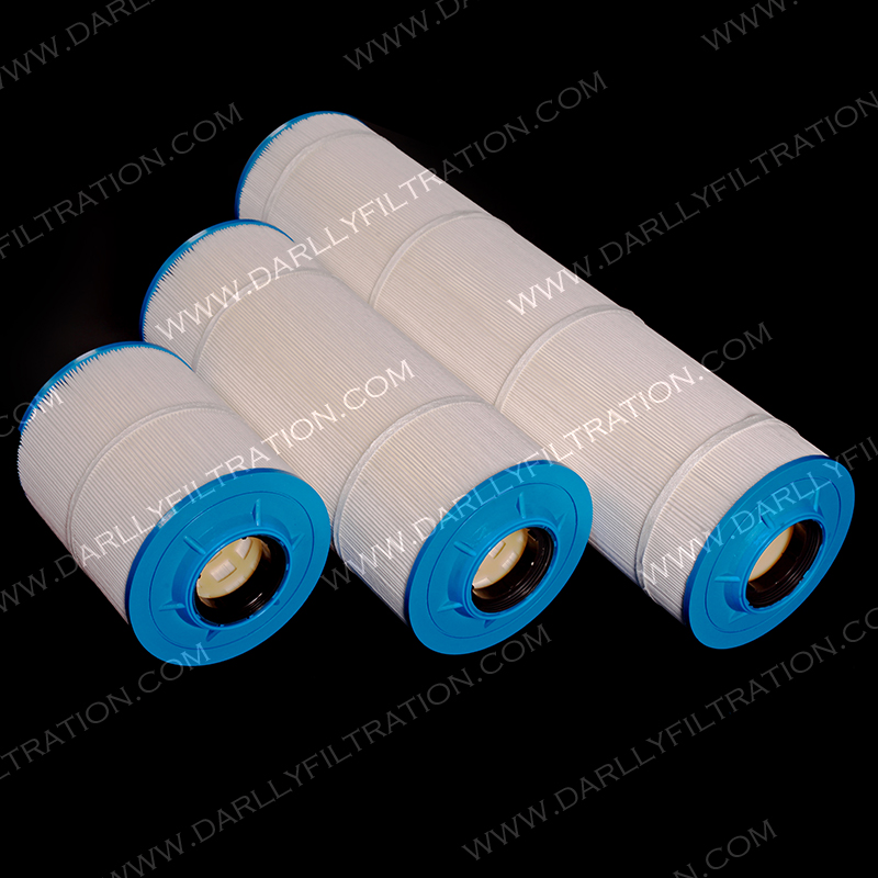 New design big blue water filter cartridge pleat for water filtration