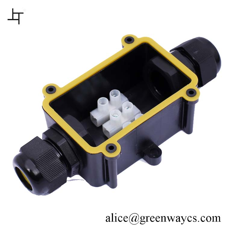 Greenway IP68 waterproof junction box high level waterproof power cable connector