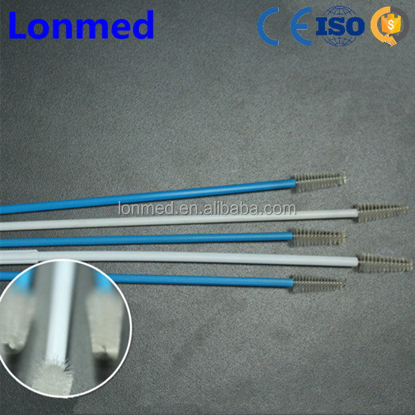 Disposable bristle type cervical/cytology/cervix brush