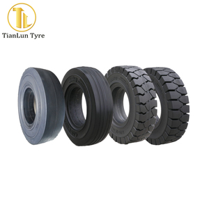 TianLun brands airport trailer tire solid 4.00-8 tires