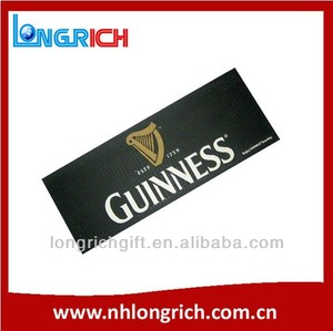 Guinness Bar Spill Mat/Bar Runner/Bar Drip Mat