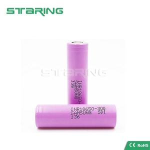 2017 New arrival rechargeable samsung inr 1865030q e cig battery 3.7V 3000mah Samsung INR18650 30Q li ion battery