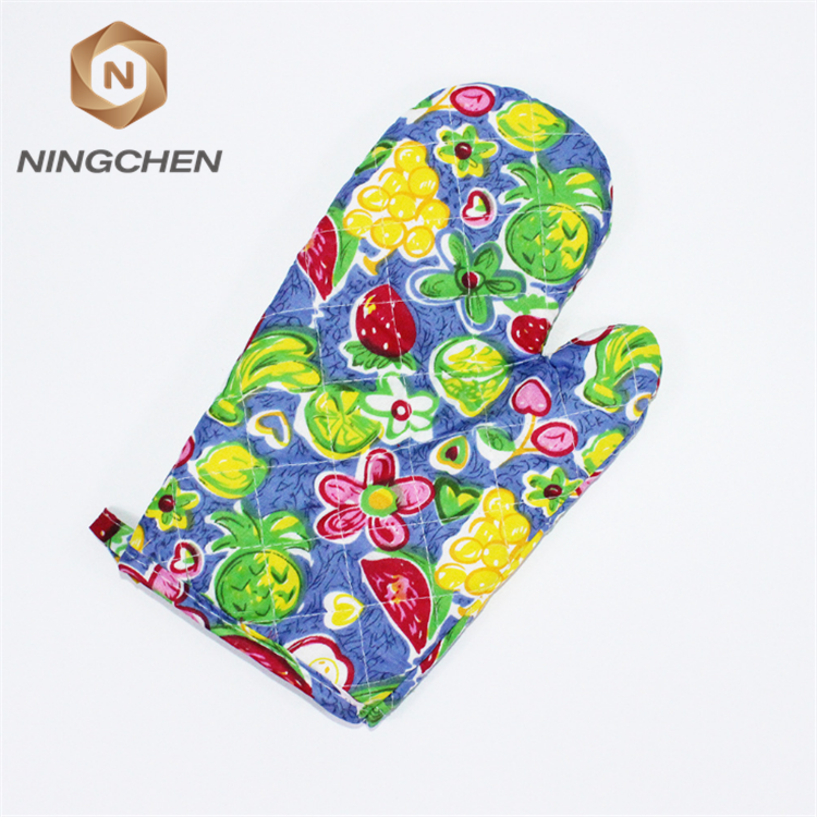 cotton 180gsm fabric potholder and oven mitt wholesale cheap cotton pot holder and oven mitt