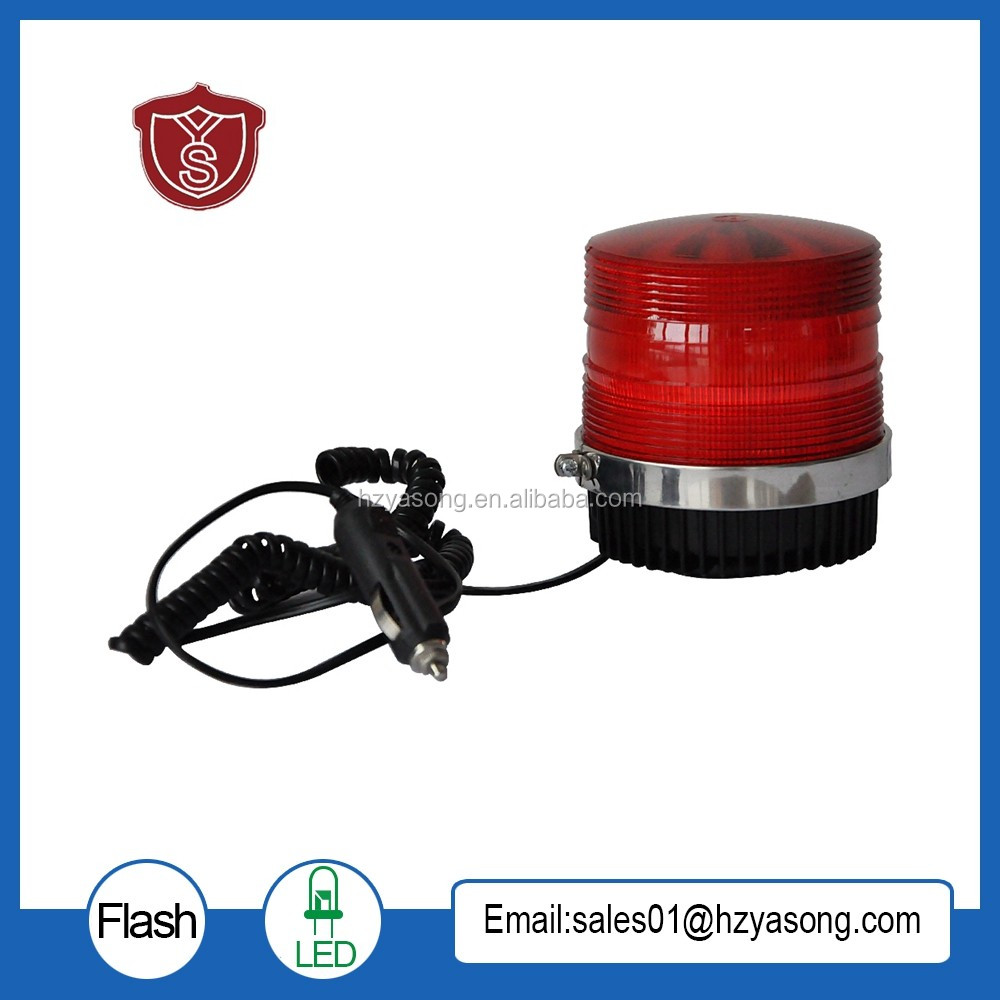 LTD-5111 Car LED 5w Strobe Warning Light DC12V/DC24V Magnetic Bottom