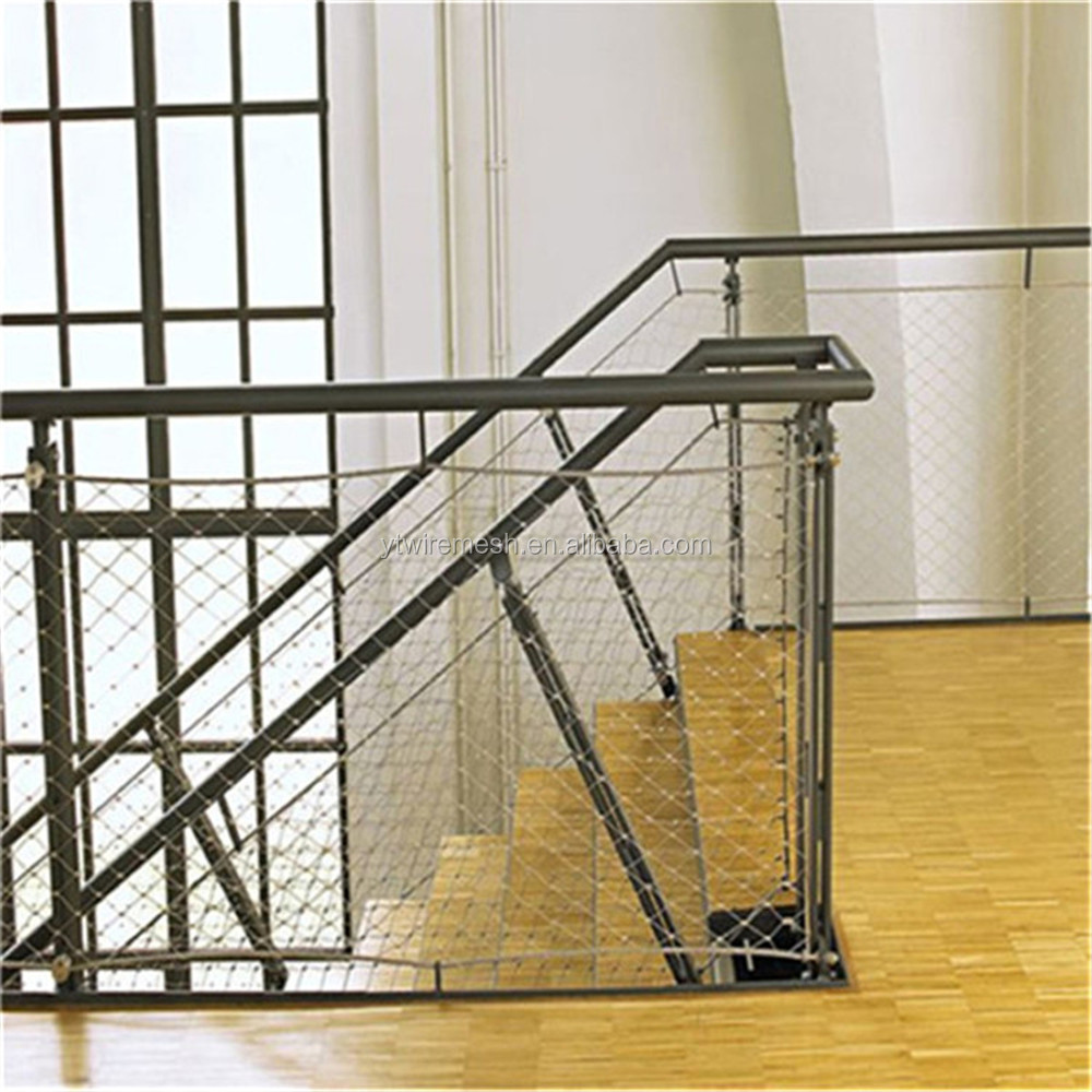 x tend inox balustrade and staircase wire rope net in 2015 year buy wire rope net stainless. Black Bedroom Furniture Sets. Home Design Ideas