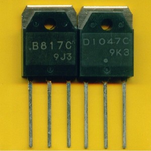Sanyo Transistor D1047 for Audio Power Amplifier Module