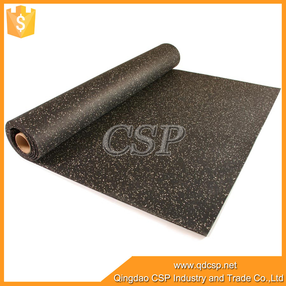 Rubber floor mats workout - Made In China Crossfit Rubber Floor Mat Black With Epdm Speckles Rubber Gym Flooring