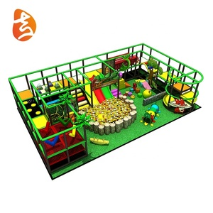 Jungle theme kids entertainment equipment indoor playground equipment