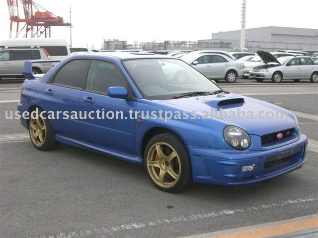 Used Subaru Impreza Wrx Sti Turbo 2001