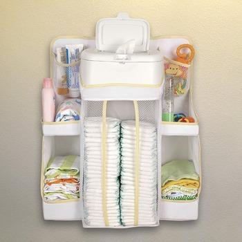 Nursery Diaper Organizer Change Table Station Organiser Buy Diaper