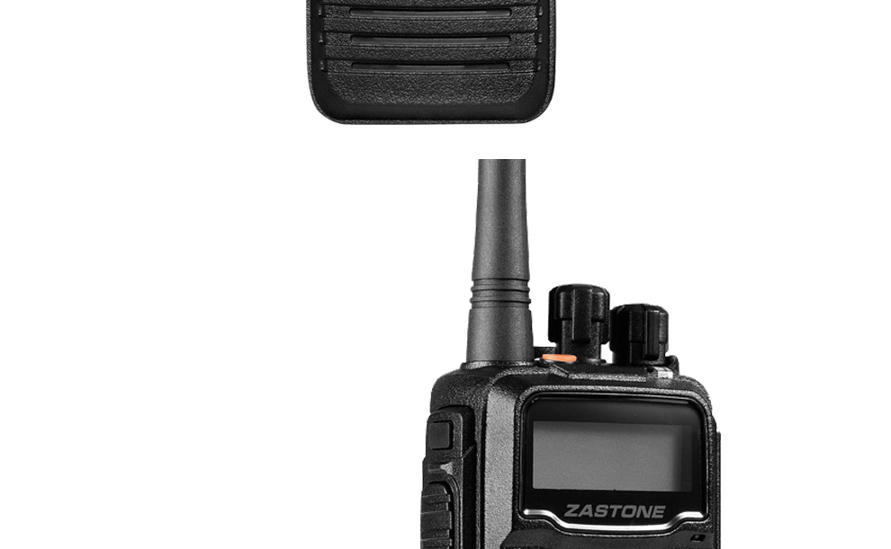 2018 ZASTONE DP880 IP67 waterproof  UHF portable walkie talkie police handheld two way radio