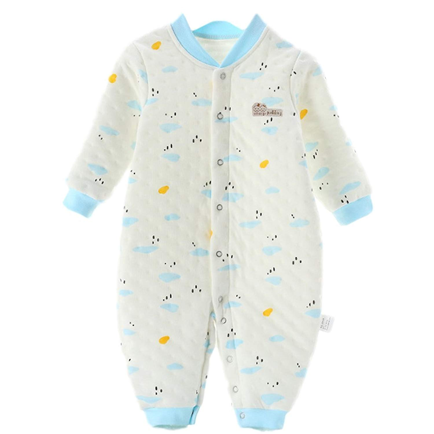 653f18fec Get Quotations · Chickwin Baby Suits, Pure Cotton Infants and Young hildren  Cotton Pajamas Winter Newborn Clothes
