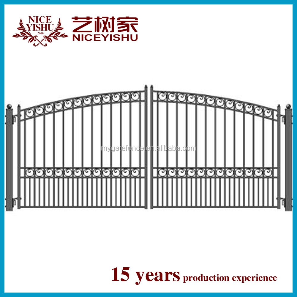 China Factory Artistic Exterior Used Simple Modern Gate Design ...