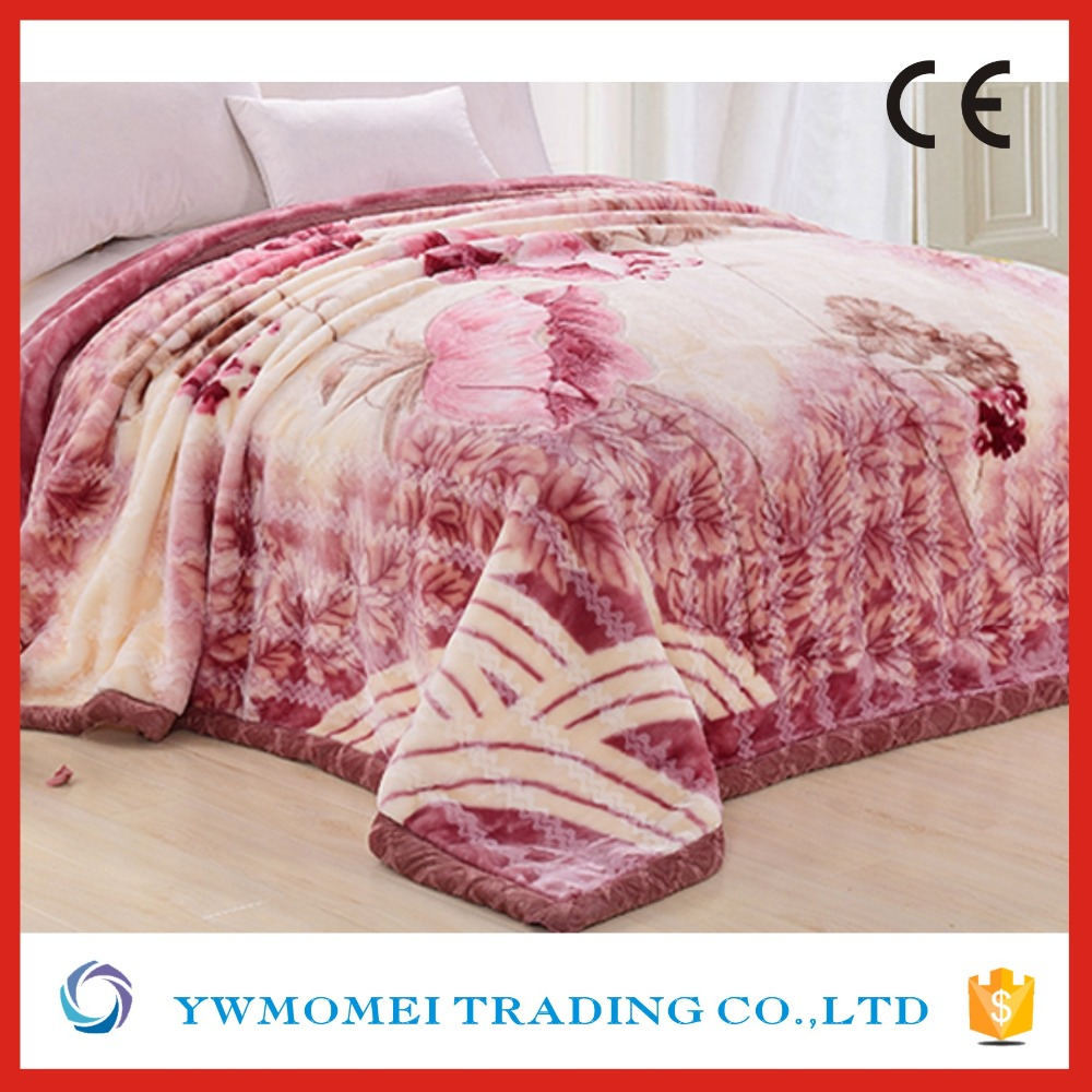 Wholesale Factory in China Mink Embossed Blanket