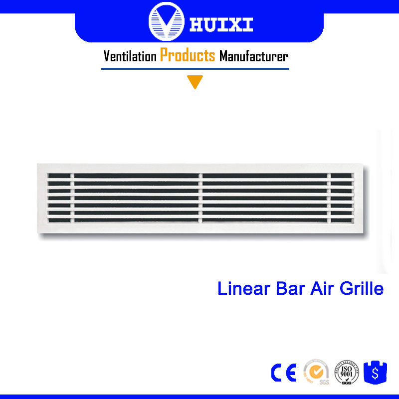 Aluminum Alloy Linear Air Supply Floor Air Grille Ventilation
