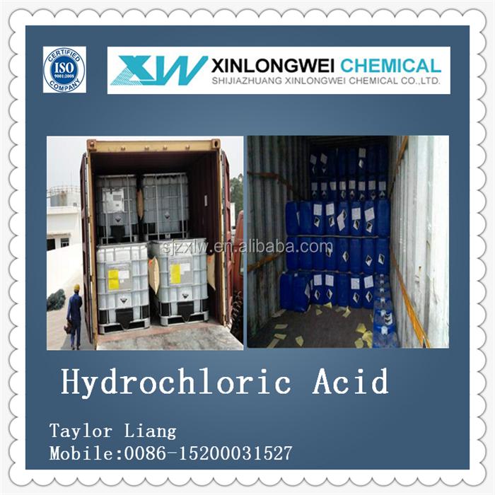Iso Quality Industrial Grade Bulk Hydrochloric Acid 31-36% In Ibc ...