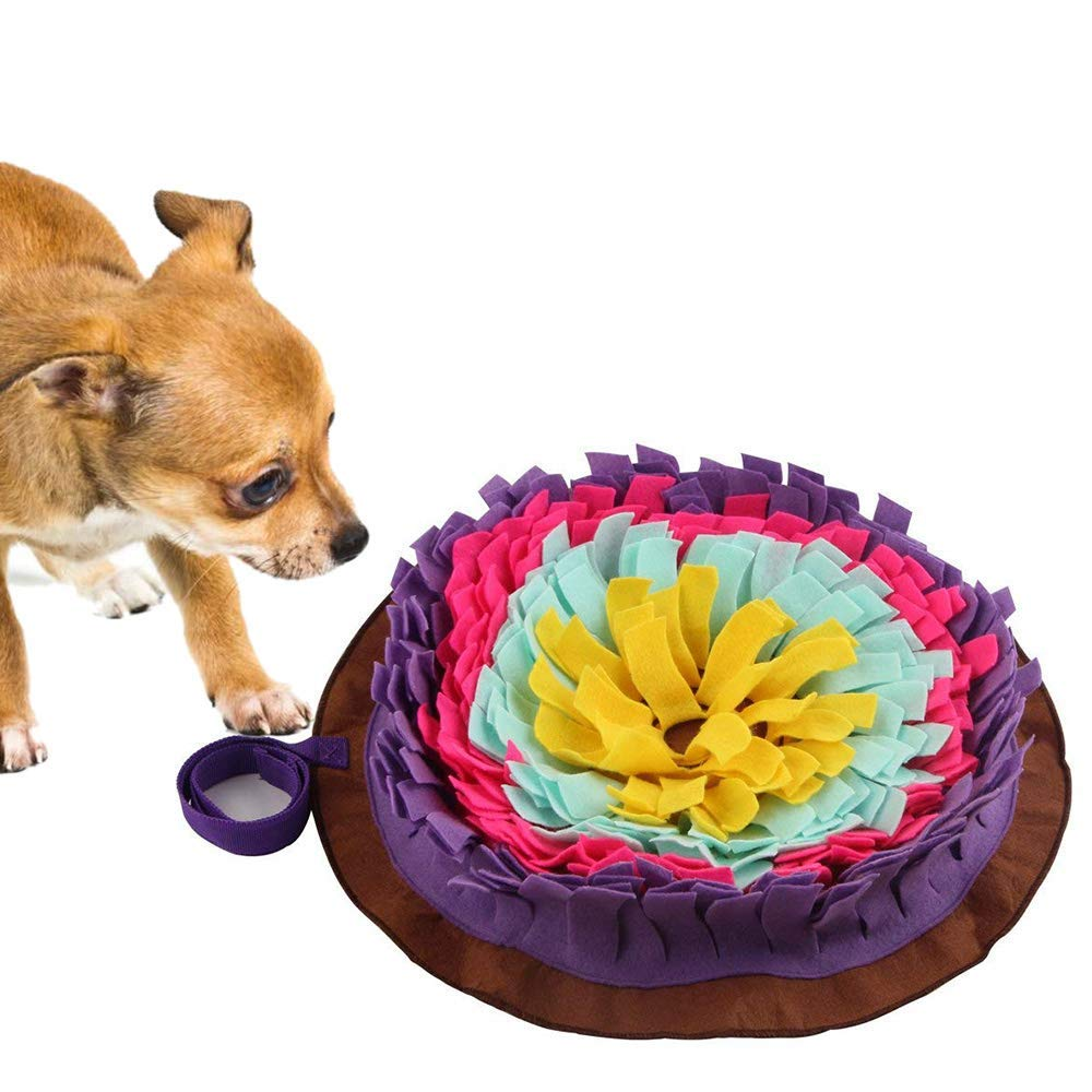 1bb1a219f4ce Get Quotations · Langxian Pet Snuffle Mat,Feeding Mat for Dogs,Small/Large  Dog Training Pad