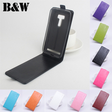 Brand Luxury PU Leather Capa Case Cover For Asus Zenfone Selfie ZD551KL Cell Phone Case Original Vertical Flip Back Cover Skin