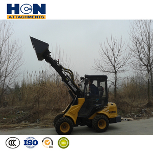 construction machines telescopic small wheel loader for sale