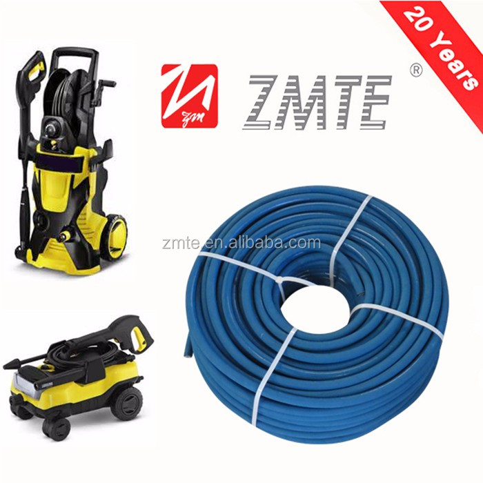 Powerful smooth cover high pressure washer hose