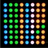 Three-color full-color RGB LED dot matrix screen module