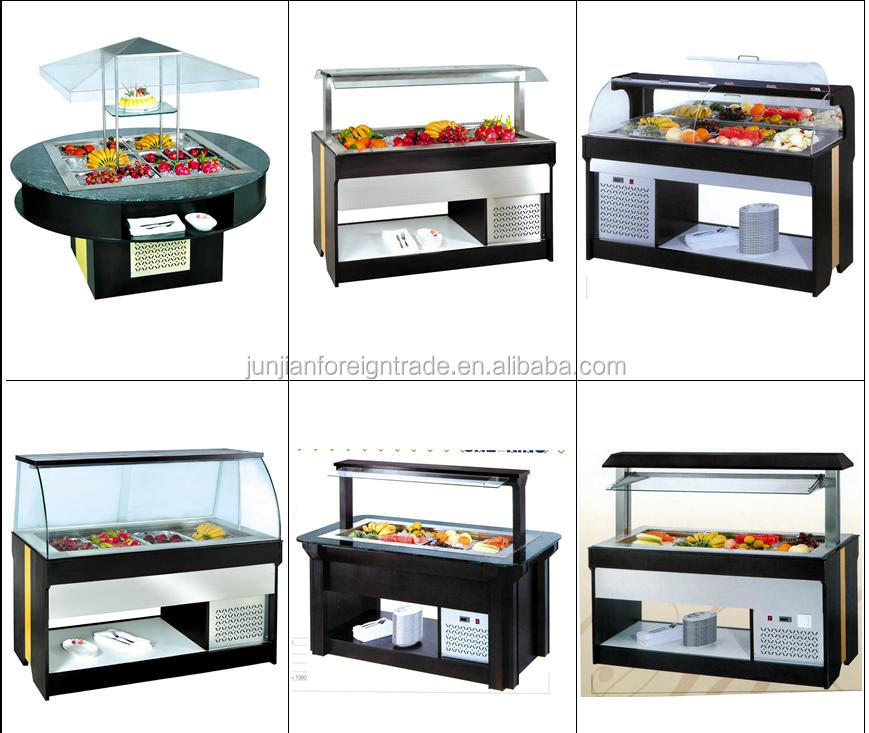 Table Top Commercial Refrigerated Salad Bar